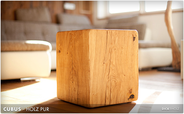 CUBUS - Holz pur