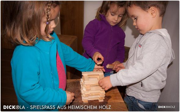 DICK®LA - Spielspaß aus heimischem Holz